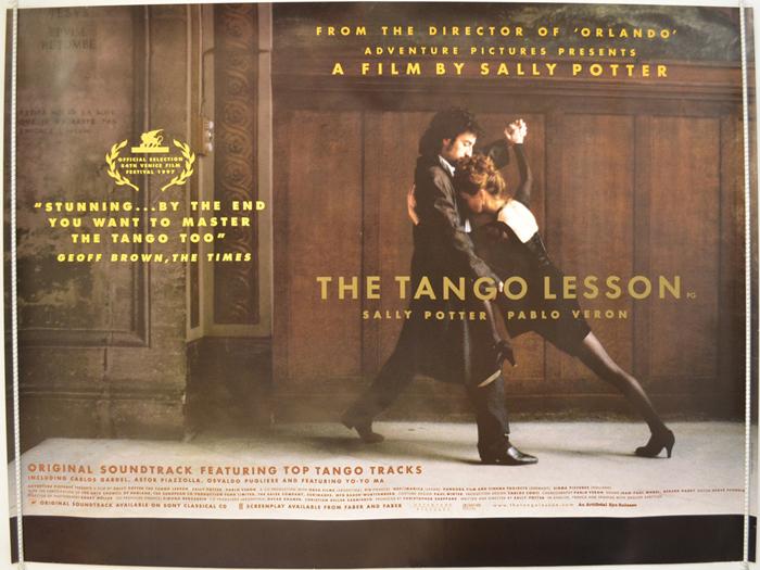 ტანგოს გაკვეთილები /  The Tango Lesson